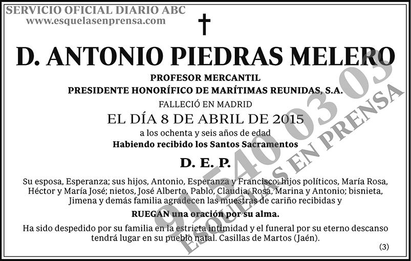 Antonio Piedras Melero